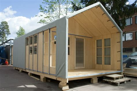 attending home design architecture can be a disaster if the liina transitional modular shelter needs no tools for