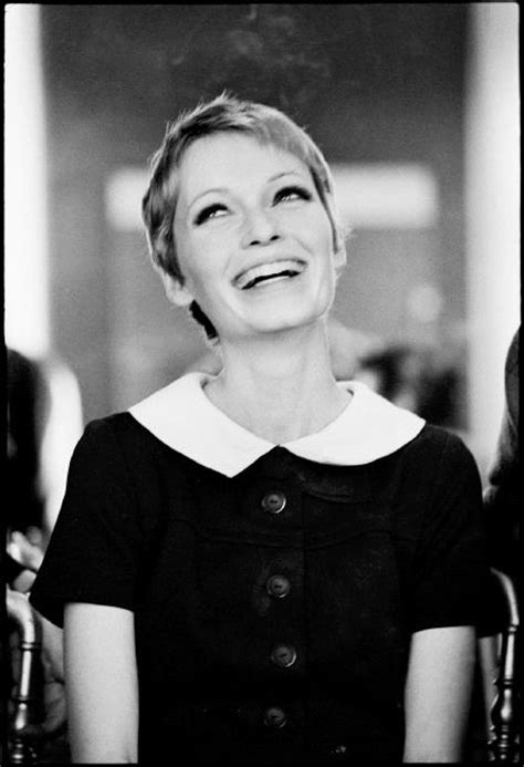 mia farrow pixie cut in 1960s short funky hair cuts a collection of ideas to try about