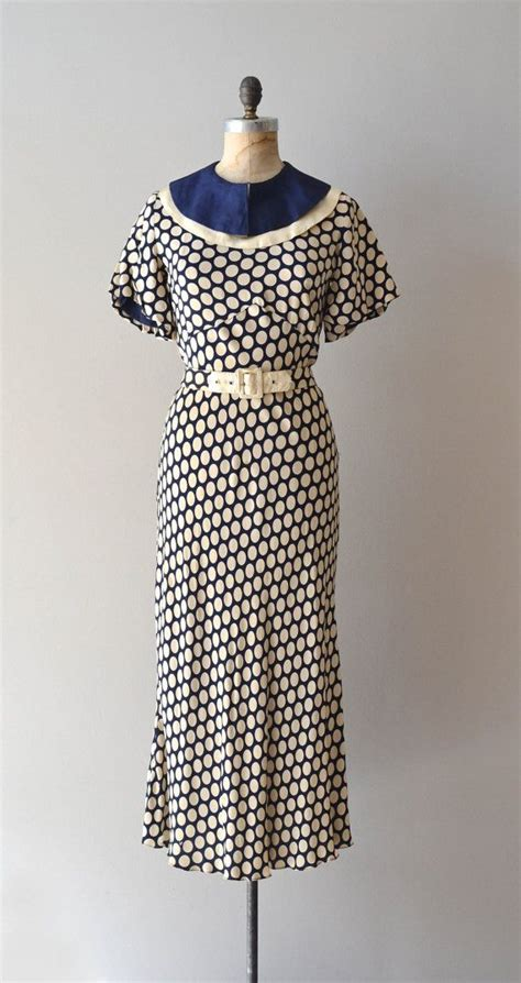 1930s vintage dress vintage clothing 2