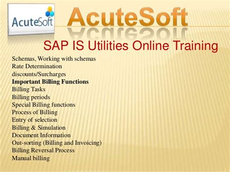 sap utilities tutorial sap is utilities online training