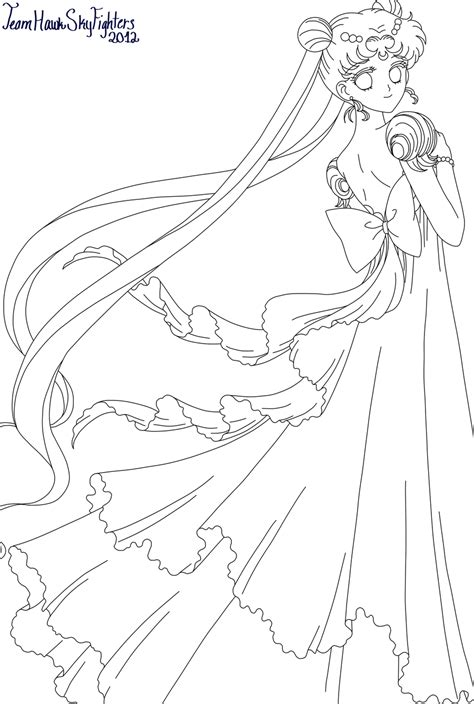 princess serenity coloring pages princess serenity by levi ackerman heicho on deviantart