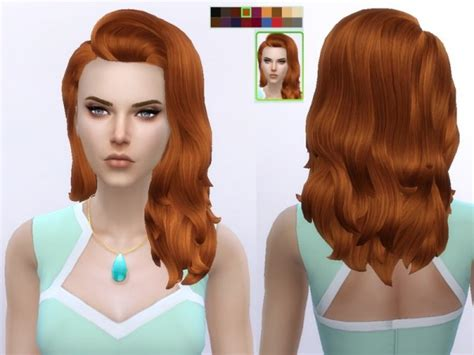 barbies stuffs hairstyles sims 4 hairs sims 4 hairs the sims resource long flipped hairstyle