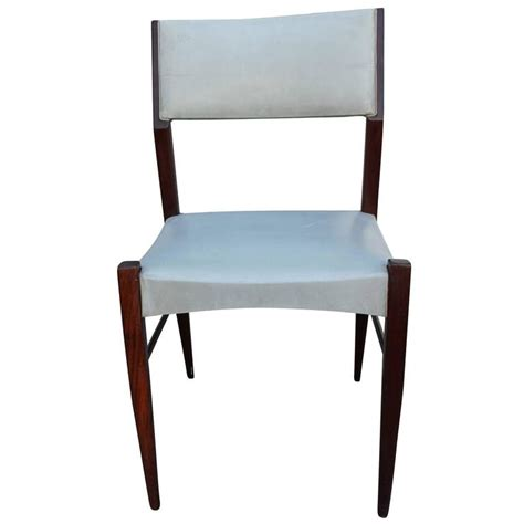Grey Leather Dining Room Chairs Set Of Six Angular Italian Modern Dining Chairs In Grey Faux Leather And Walnut For Sale At 1stdibs