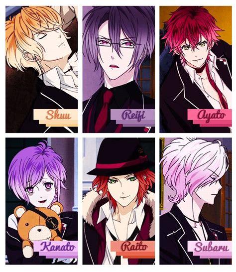 subaru anime character resultado de imagem para diabolik lover shu diabolik