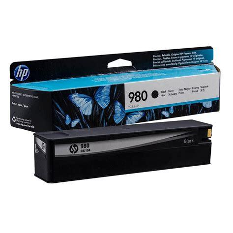 hp 980 black original ink cartridge d8j10a d8j10a