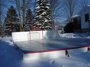 Backyard Ice Rinks Making Your Basic Rink Backyard Rink