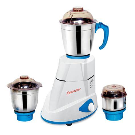 Mixer Signora Or signoracare 750 watts 3 jar mixer grinder signoracare