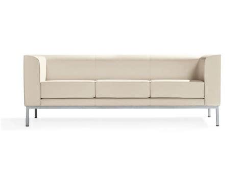 divani compatti 2 seater sofa with painted aluminum idfdesign