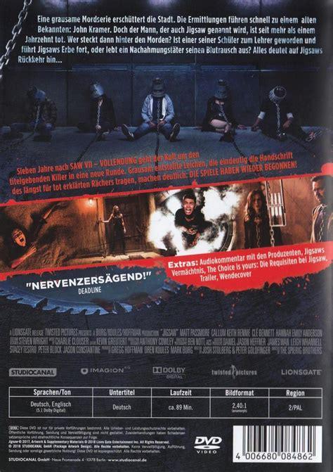 jigsaw film bewertung saw viii jigsaw dvd oder blu ray leihen videobuster de