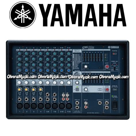 Power Mixer Yamaha 12 Channel yamaha 12 channel stereo powered mixer olvera