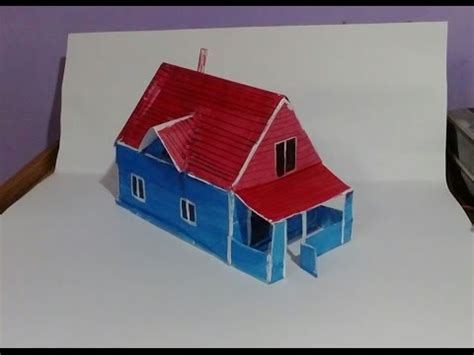 How To Make Paper Houses - how to make paper house