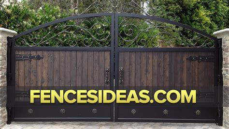 design gate idea wrought iron fences iron gate design ideas beds