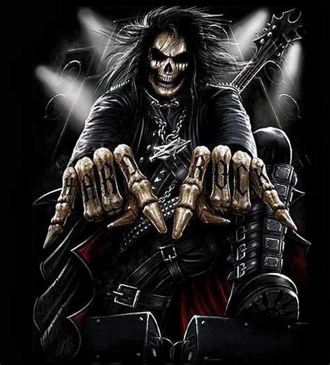 imagenes de calaveras heavy metal caveiras iradas rock hits