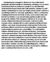 Volunteering At A Hospital Essay by Volunteering At Essaypedia