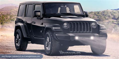 New Jeep Wrangler The New Jeep Wrangler Jl What We So Far Offroad