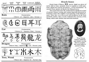 Oracle Bone Characters Essay by Oracle Bones To Modern Script Airc
