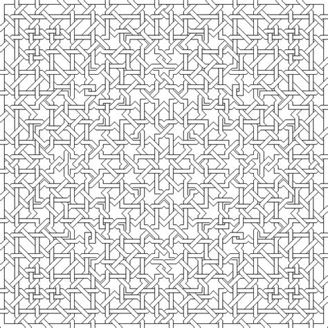 islamic pattern outline outline islamic interlacing patterns to colour in