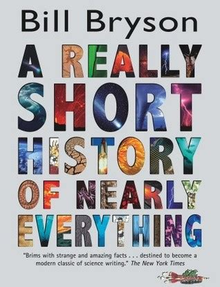 to really a books a really history of nearly everything by bill bryson