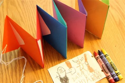 How To Make A Book Out Of Construction Paper - bookmaking for accordion envelope books your way