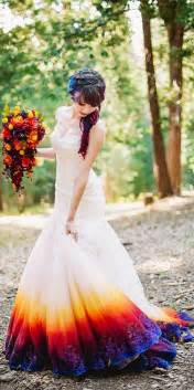 colorful wedding dress 25 best color wedding dresses ideas on