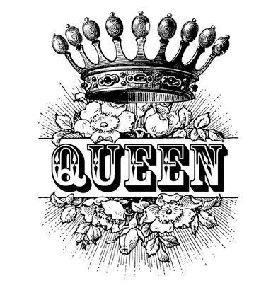 tattoo font king queen crown royalty roses antique by