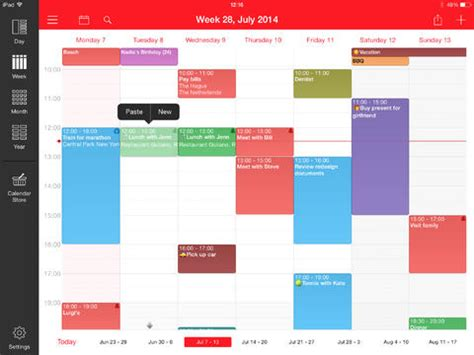 kalender ipad design week calendar neues design f 252 r gute kalender app itopnews