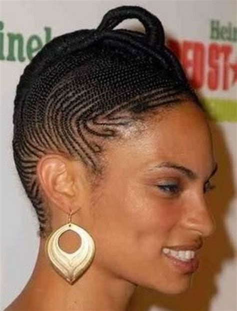 different kind of corn rolled hair styles cornrow styles