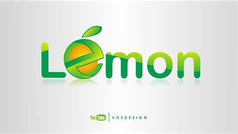 tutorial logo keren tutorial logo lemon keren corel draw bahasa indonesia