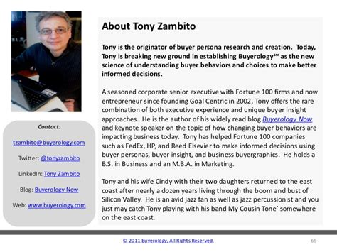 toni zambito how buyer trends are impacting the future of business thinking