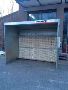 cabina di verniciatura usata mazzoleni macchine cabine di verniciatura