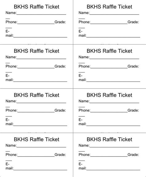 Best 25 Free Raffle Ticket Template Ideas On Pinterest Raffle Tickets Printable Raffle Free Raffle Ticket Template