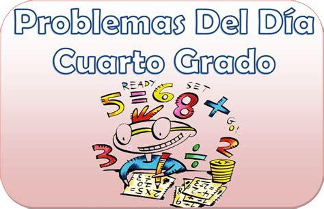 primaria tic 4 grado problemas del d 237 a para cuarto grado de primaria material