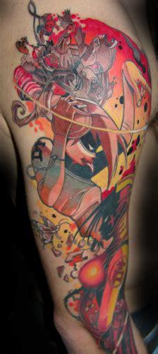 tattoo arm cartoon cartoon sleeve tattoos sleeve tattoos gallery