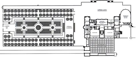 oheka castle floor plan oheka castle floor plans floorplan pinterest