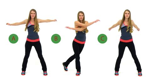 swing your arms from side to side 5 minute warm up for any type of workout
