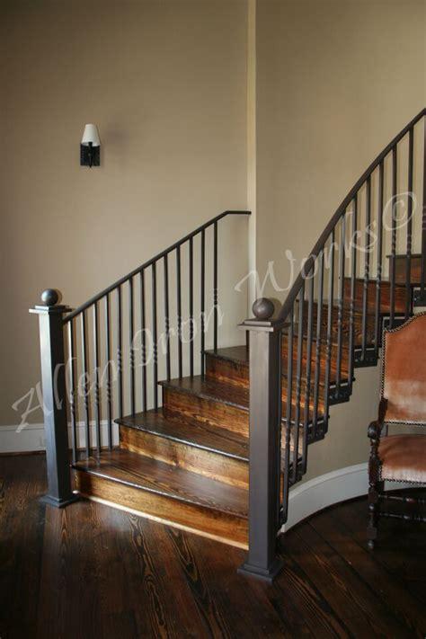 interior railings birmingham al allen iron works