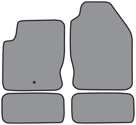 Ford Focus Floor Mats 2007 by 2000 2007 Ford Focus Cutpile 4pc Factory Fit Floor Mats