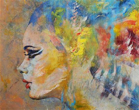 imagenes abstractas femeninas cuadros pinturas oleos rostros de mujeres pinturas
