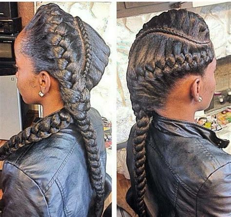 goddess braids in a ponytail the 25 best two goddess braids ideas on pinterest two