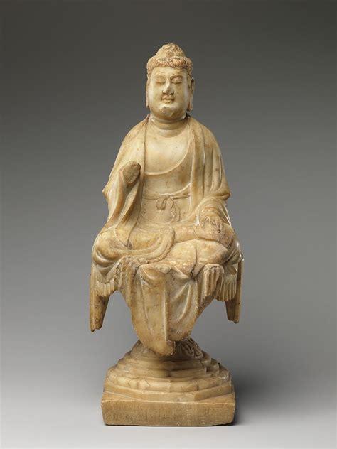 buddha china tang dynasty   met