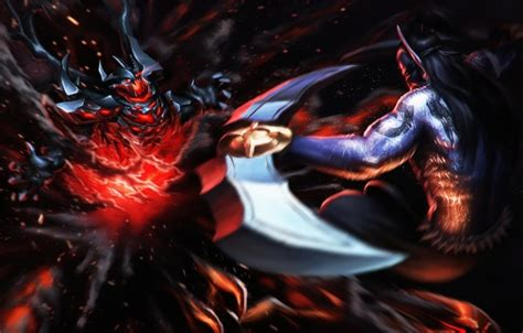 wallpaper dota 2 nevermore wallpaper anti mage shadow fiend art the demon battle
