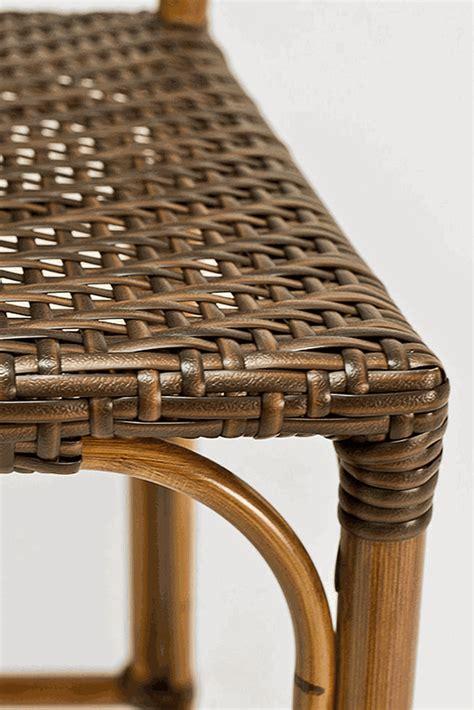Florida Seating Outdoor Bar Stools by Florida Seating Printed Bamboo Finish Outdoor Bar