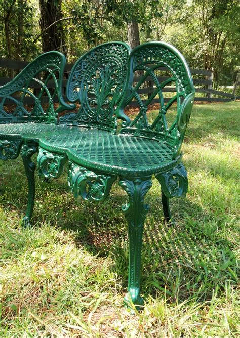 green metal garden bench english garden bench furniture victorian old style cane