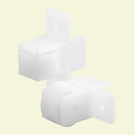 Drawer Guide Rollers by Prime Line Rear Drawer Track Socket 1 Pair R 7265 The