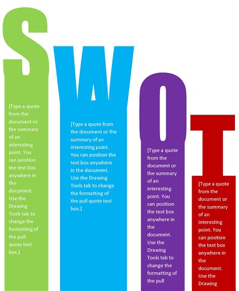 swot analysis templates 40 free swot analysis templates in word demplates