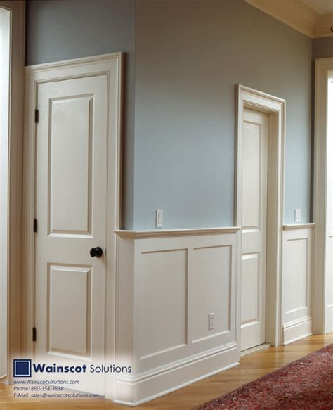 Wainscoting Design by Hallway Designs By Wainscot Solutions Traditional