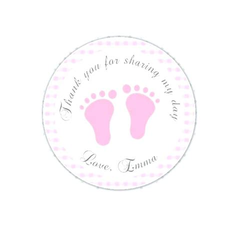 templates for baby shower favor tags generous baby feet template photos exle resume and