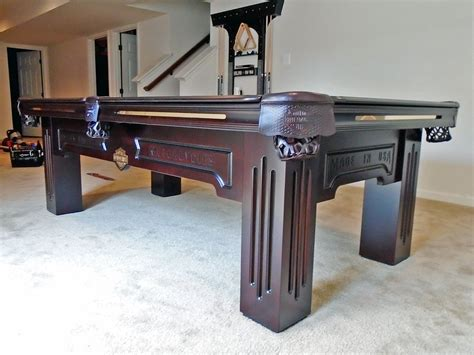 olhausen harley davidson pool table delivered to charles