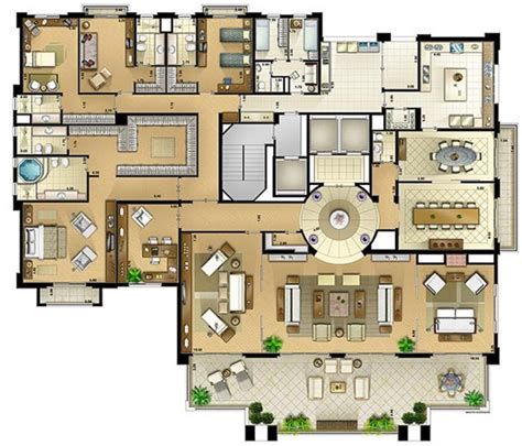 casa cing on the park 607m 178 panamby s 227 o paulo floor plans