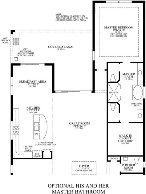 his and her bathroom floor plans his and hers master bathroom floor plans and home plans